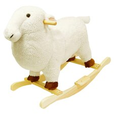 Lamb Plush Rocking Animal