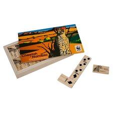 WWF Cheetah Dominoes from FSC Certified Wood