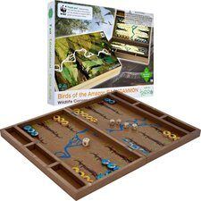 WWF Amazon Birds Backgammon from FSC Certified Wood