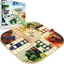 <strong>WWF by Terra Toys</strong> WWF Borneo & Sumatra Ludo from FSC Certified Wood