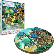 WWF Turtle Tic-Tac-Toe from FSC Certified Wood