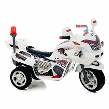 <strong>Lil' Rider</strong> 6V Battery Powered Police Motorcycle