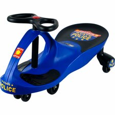 Wiggle Push/Scoot Police Car