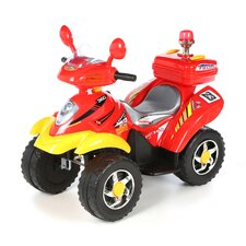Battery Operated 4 Wheeler in Red / Yellow