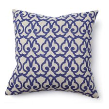 Full Bloom Brit Print Pillow