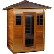 Outdoor Series 3 Person Carbon FAR Infrared Sauna
