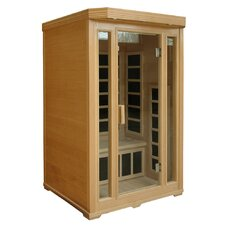 2-Person Infrared Sauna with Seven Carbon Heaters