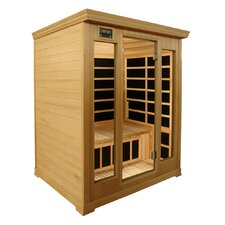 Luxury Series 3 Person Carbon FAR Infrared Sauna