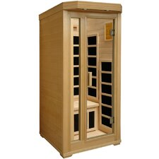 1-Person Infrared Sauna with Six Carbon Heaters