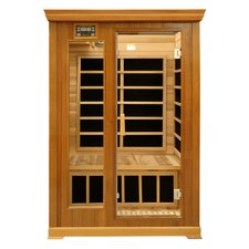 Luxury Series 2 Person Luxury Carbon FAR Infrared Sauna