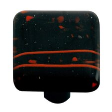 "<strong>Hot Knobs</strong> Mardi Gras 1.5"" Square Knob"
