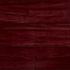 "<strong>IndusParquet</strong> 5-1/2"" Brazilian Cherry Antiquity Hand-Scraped 3/4"" Solid Line Flooring in Rouge/Red"