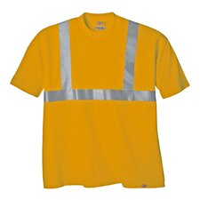 2 Extra Large High Visibility ANSI Class 2 T-Shirt in Orange
