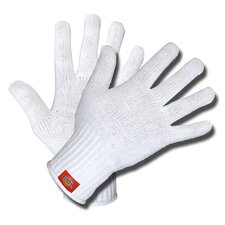 Bleached Polycotton Shell Gloves