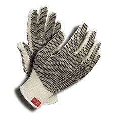 Polycotton Gloves with Two-Sided PVC Dots