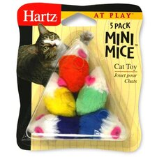 5 Pack At Play Mini Mice Cat Toy (5 Pack)