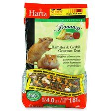 Nutrition Bonanza Hamster and Gerbil Gourmet Diet (4 Lbs)