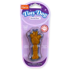 <strong>Hartz</strong> Tiny Dog Dental Duo Dog Toy Edible Chew Combo