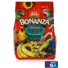 Bonanza Gourmet Small Parrot Diet Food - 4 lbs