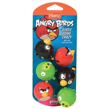 Angry Birds Gone Crazy Cat Toy (Set of 6)