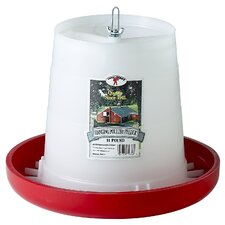 <strong>Miller Mfg</strong> Little Giant Farm & Ag Plastic Hanging Poultry Feeder