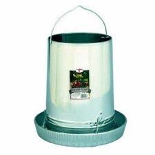 Hanging Poultry Feeder with Pan