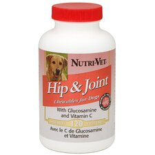 Liver Flavored Hip and Joint Chewables for Dogs - (120 Count)
