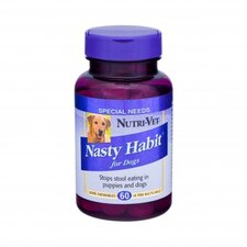 Liver Flavored Nasty Habit Chewables for Dogs (60 Count)