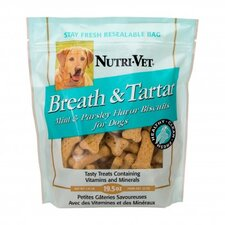 Breath and Tartar Mint and Parsley Biscuits Dog Treat