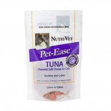 Chicken and Tuna Flavored Pet Ease Soft Chews for Cats