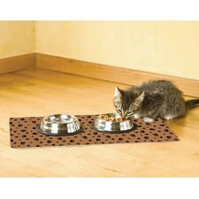 Paw Print Cat Place Mat