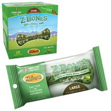 Z-Bone Natural Edible Dental Chew Dog Treat