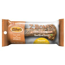 Carrot Crunch Z-Bones Dental Chew Bone Dog Treat (8-Pack)