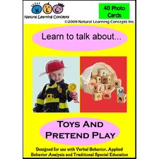 Learn To Talk About Toys And Pretend Play