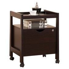 1-Drawer Hancock Modern Equipment Trolly/File Cabinet
