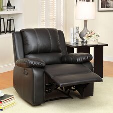 Jerriste Bonded Leather Recliner