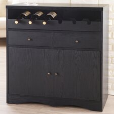 Renard Buffet Server and Wine Rack