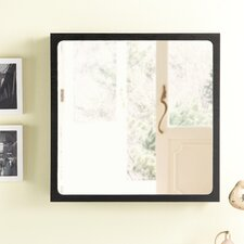 <strong>Hokku Designs</strong> Monte Wall Mounted Jewelry Armoire with Mirror