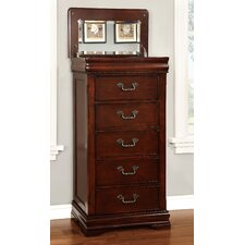 Cherisse 5 Drawer Lingerie Chest