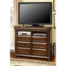 Bautini 6 Drawer Media Chest