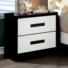 Verzaci 2 Drawer Nightstand