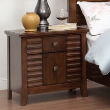 Tora 2 Drawer Nightstand