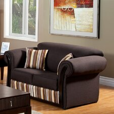 Suburban Striped Loveseat