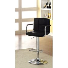 "Goldmember 24.5"" Adjustable Swivel Bar Stool"