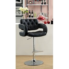 "Lesticia 25.25"" Adjustable Swivel Bar Stool"