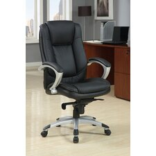 <strong>Hokku Designs</strong> Oscar Leatherette Executive Office Chair