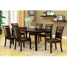 Carnadine 7 Piece Dining Set (Set of 7)