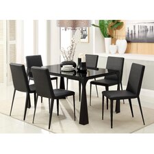 Modest 5 Piece Dining Set