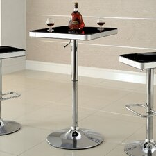 <strong>Hokku Designs</strong> Adjustable Height Swivel Pub Table