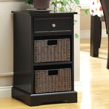 Garth Double Basket Storage Cabinet